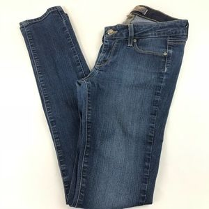 Paige Womens Jeans Peg Skinny Denim Size 25 Dark